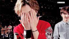 Xiumin: ¿Dónde está Kyungsoo? ¡Aquí ta'!, ¿Dónde está la sangre? ¡Ahí ta'!