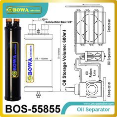 31.35$  Watch now - http://ali5eb.shopchina.info/go.php?t=32616102956 - Oil Separator evacuates heat due to frictions of the mobile parts in refrigeraton plant or air conditioner 31.35$ #SHOPPING