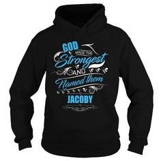 Awesome Tee God Strongest JACOBY legend shirts Shirts & Tees