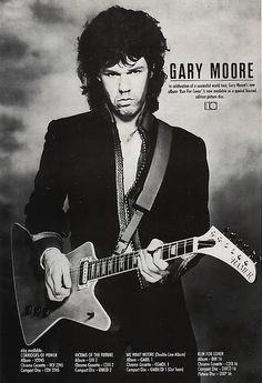 Gary Moore..My favorite song of his is Still got the Blues for You.