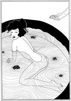 Art Nouveau Posters: The Bath Art Print