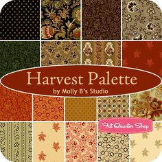 Harvest Palette by Molly B's Studio for Marcus Brothers Fabrics