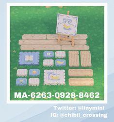 Acnl Paths, Motif Acnl, Island Theme, Path Design, Art Inspiration Drawing, Animal Crossing Game, Animal Games, Display Design, Aesthetic Anime