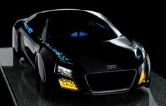Audi, 2013 International CES, Audi LED lights, LED lights, LED taillights, lighting, lighting technology, active safety