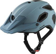 Der Alpina Comox ist ein Allround-Helm – zu einem Kostenpunkt von rund 150 €. E Mtb, Bicycle Helmet, Komfort, Blue, Highlights, Products, Cycling Helmet, Road Cycling, Grey