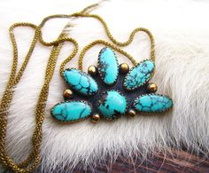 Tawa Cluster Necklace