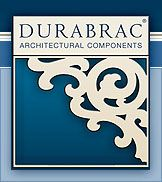DURABRAC   Decorative vinyl porch brackets, gable brackets, spandrel, sawn balusters and running trim.