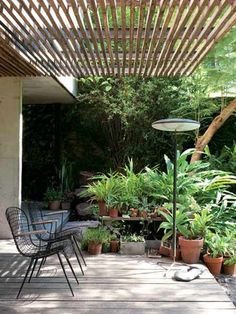 12 Pergola Patio Ideas that are perfect for garden lovers! Diy Pergola, Building A Pergola, Pergola Roof, Pergola Shade, Black Pergola, Pergola Swing, Patio Roof, Building Plans, Outdoor Rooms