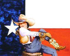 Texas Star by Doreman Burns  I love dorman Burns.  A Texan!!