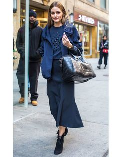 Biggest Trends In Women S Fashion Info: 6401547600 Olivia Palermo Outfit, Olivia Palermo Style, Milan Fashion Weeks, Paris Fashion, Winter Fashion, Fashion Line, Love Fashion, Trendy Fashion, Paris Outfits