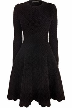 Cuddly Long Sleeve Dress by Alexander McQueen Quirky Fashion, Modest Fashion, Love Fashion, Modest Dresses Casual, Daytime Dresses, Dress Skirt, Dress Up, Alexander Mcqueen Clothing, Thrift Fashion