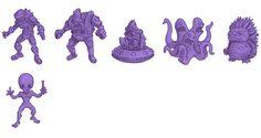 Little Weirdos: Mini figures and other monster toys: Q&A: SLUG Zombies designer John Rauschelbach