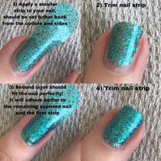 Did you know that you can use Color Street nail polish strips on top of each other to create different effects? Find out why and how to do it. Opi, Essie, Us Nails, Hair And Nails, Nail Polish Strips, Dry Nail Polish, Crazy Colour, Color Street Nails, Nail Manicure