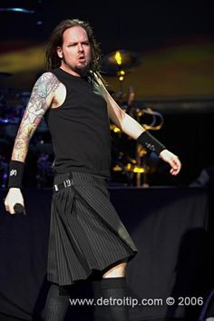 Love JD in his kilt!