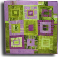 Boxed Stripes #2 by Melody Johnson Quilts, via Flickr