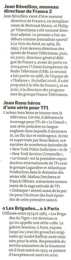 Brèves (Le Monde Télévision)