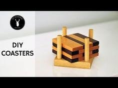 DIY Wood Coasters - YouTube