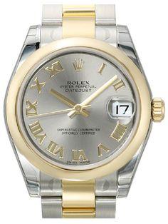 Rolex Datejust 31 Edelstahl Gelbgold 178243 Stahl R