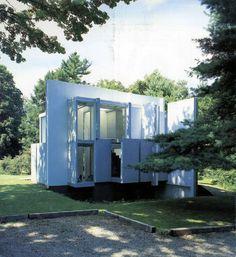 house VI | Peter Eisenman. Cornwall, Connecticut 1972