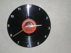 His Master's Voice 33rpm Vinyl Wall Clock by Klicknc on Etsy