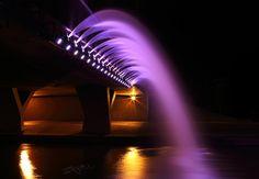 Purple Water Fall