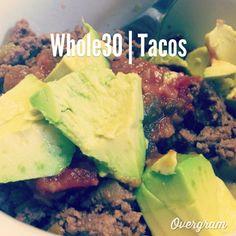 Whole30 Paleo Tacos #whole30 #paleo