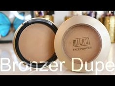 Too Faced Milk Chocolate Soleil Bronzer Dupe - YouTube