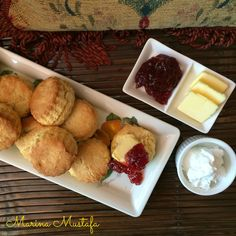 Cooking with Marina Mustafa: Scones (using the PHILIPS Air Fryer)