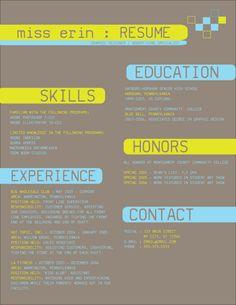 Resume design 2 by tiredofart.deviantart.com
