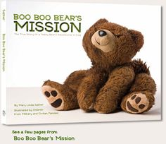 Boo Boo Bear's Mission tells the story of a beloved teddy bear on an important mission. Young Shea Leigh's dad has been deployed to Iraq with the Air National Guard. To help her dad feel less lonely while he is away from his family, Shea Leigh sends Boo Boo Bear to him in a care package. Half a world away from home, Boo Boo tours the base with Dad, embarks on a jet fighter flight and fulfills an important mission--to carry a family's love until they can be together again. Ages 4-8
