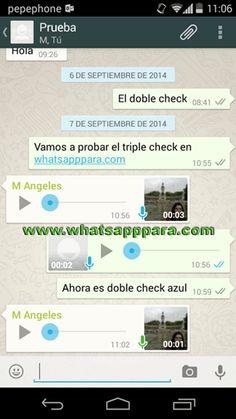 WhatsApp para Android: llega el doble check azul