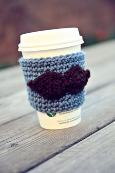 mustached coffee cozy/sleeve?! the hughes would get a hard on for this!