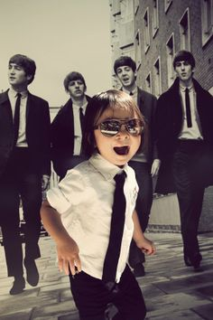 Beatles Kids Party Photo