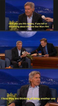 Harrison Ford on Conan O'Brien
