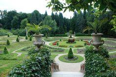 Regular park in the vicinity of Prague