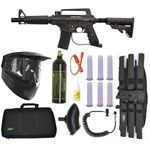 Who wants to start playing?  Easy way to get into the game is to buy a whole paintball package.