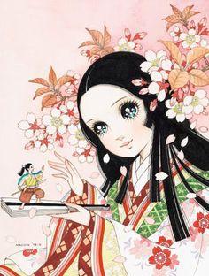 Classic Shoujo Manga Style.
