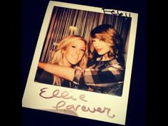 Ellie Goulding and Taylor Swift
