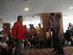 Actividad correspondiente a las Jornadas de Educación Artística de la SEP,  en relación con la implementación de la Reforma en secundaria,  con los asesores técnico pedagógicos del país.