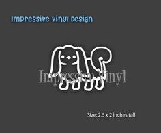 Stick Family Custom Black or White by impressivevinyldsign on Etsy
