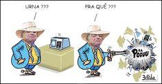 Pesquisa:<BR>Rio (76%) quer votar!