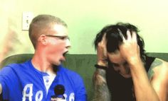 gif...Austin Carlile and Bryan Stars. OMFG THIS WAS THE BEST BS INTERVIEW EVERRRR!!!!