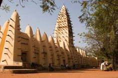 https://flic.kr/p/9QfH1U | 203 - Old mosque Bobo-Dioulasso