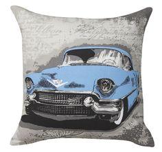 woodville-41x41cm-filled-cushion-blue Cushions, Throw Pillows, Logan, Bed, Toss Pillows, Toss Pillows, Stream Bed, Pillows, Decorative Pillows