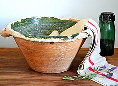 Rare authentique poterie Française 18 eme siècle
