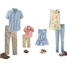 What to wear at your session - spring/summer 2015 casual family photos, sum Summer Picture Outfits, Family Picture Outfits, Spring Family Pictures, Family Pics, Beach Pictures, Family Portrait Outfits, Family Photos What To Wear, Quoi Porter, Family Photo Sessions