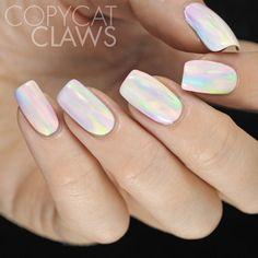 Copycat Claws: China Glaze Watercolor Nail Art