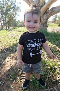 I Get My Strength From Jesus.
