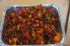 A delicious tomato salad created by students in our LA pilot of the 'Learn Your Fruits and Vegetables' program.
