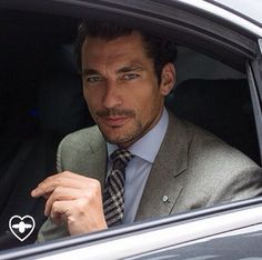 David Gandy | London Collections: Men | Source: Fashionistable